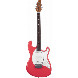 Music Man Cutlass RS coral red