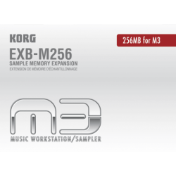KORG Mémoire EXB 256 MO
