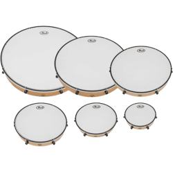 PEARL Set de 6 tambourins