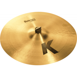 "ZILDJIAN K 20"" dark crash thin"