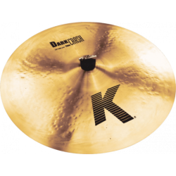 "ZILDJIAN K 19"" dark crash thin"