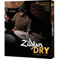 ZILDJIAN Pack K Custom Dry...