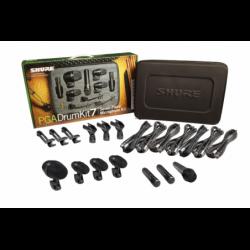 SHURE Mallette 7 micros...