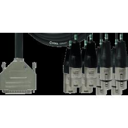CORDIAL Câble sub-D/4 XLR m...