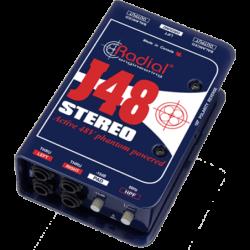 RADIAL DI active stéréo J48...