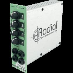 RADIAL Mixeur 4 entrées/1...