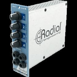 RADIAL Distributeur audio 4...