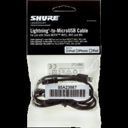 SHURE Shure câble Micro USB...